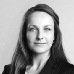 woman in suit